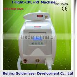 Www.golden-laser.org/2013 New Style E-light+IPL+RF Machine 10 In 1 Basic Beauty Equipment