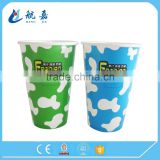 2016 vending bid size cold drink paper cup china supplier