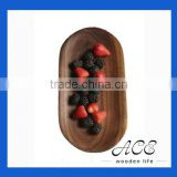 Black Walnut Serving Tray Wooden Fruit Tray Dessert Plate Little Dishes