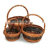 Wholesale bulk willow wicker flower baskets