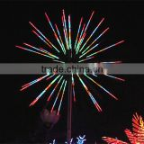 Manufacturer garden/party save latest firework lighted decoration led Christmas light chinese fireworks