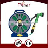 50ft 15M REEL FLAT GARDEN HOSE with 7 function sprayer