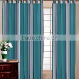 KITCHEN DECORATED COTTON STRIPED CURTAINS / AIR CURTAIN / CHILDREN LIKED STRIPE WINDOW & DOOR CURTAIN SET