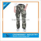 multi pocket baggy cargo pants for men