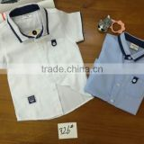Wholesale Baby boy T-shirt cotton polo shirts kids short sleeves boys clothing