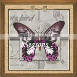 Multicolor Butterfly Pattern Embroidery Diamond Painting DIY Kit Cross Stitch For Living Room