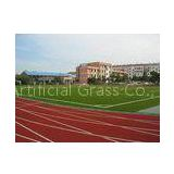 9000Dtex Artificial Grass for Football Field, UV-resistant 25mm Red Synthetic Soccer Grass
