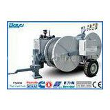 2 x 55kN Stringing Equipments of Puller Tensioner with Twin Bundle Conductors , Cummins Engine