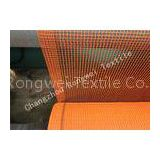 Fire-Retardant Construction Safety Netting Barrier Nets , Orange Debris Netting with Reinforced Bord