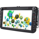 16G Multimedia Touch Screen Car Radio 9 Inch For Volkswagen