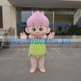 beautiful act costume sweet plum blossom mascot