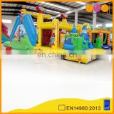 AOQI tribe pyramid climb obstacle course inflatable for kids