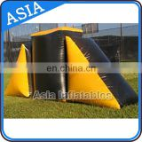 Durable Airsoft Inflatable Bunkers / Mobile Laser Tag For Rental