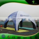 Outdoor Bubble Advertising Inflatable Tent, 4x4m Inflatable Spider Tent For Outdoor Promotion Event