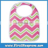 Hot Selling Baby Sublimation Printing Neoprene Bibs