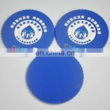 Good quality and cheaper soft pvc rubber coaster,cup mat