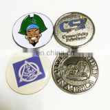 Top selling good quality customized golf ball marker