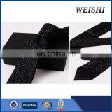 latest fashional solid rhinestone necktie