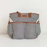 Classic striped diaper bag from China