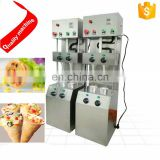 Stainless steel sweet drum pizza making machine/High Quality Ice Cream Cone Make Machine