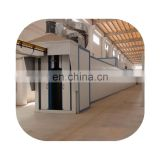 Automatic color powder coating line for aluminum windows and doors