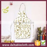 Kitchen Bib apron Printed PVC fabric aprons