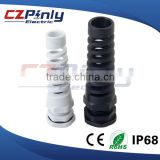 IP68 Nylon Electrical Cable Gland with Strain Relief