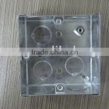 Metal junction box (cable junction box,G.I.box)