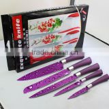 Non-stick printing knife set