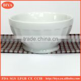 pedicure bowl porcelain round shape bowl ,dessert stripe bowl, ceramic rice dinner bowl
