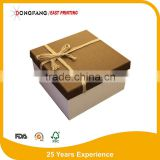 round cardboard kraft paper watch gift box
