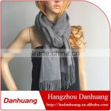 High quality fashionable cotton cashmere imitation tassel scarf                                                                         Quality Choice