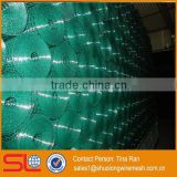 Hebei Shuolong supply 0.9mx18m 19 Gauge Garden Green PVC welded wire steel mesh for garden fence