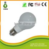 A60 light bulb 6w led bulb light E27/E26/B22 bulb holder available 360 degree ceramic bulb wholesale manufacturer