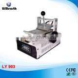 Best price LY 903 OCA manual hand wheel type LCD UV Glue Remover LOCA Glue Remove Machine for samsung iphone