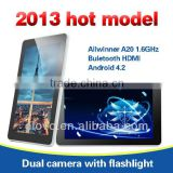 7 inch Android panel pc with HDMI A20 table pc with Wifi bluetooth
