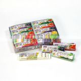 5 stick fruity chewing gum