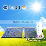 Split Copper Pipe Solar Water Heater Heating System
