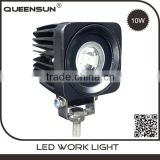 "Super bright IP67 automotibles square spot 2.5"" 12v 10w auto cob worklight"