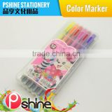 Hot Sale 6 Colors water color magic stamp marker