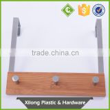 China supplier bamboo metal hooks and hangers