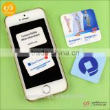 Wholesale self-adhesive microfiber sticky screen cleaner for mobile phone