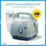 Surgical Suction Machine PWS-TP35B: CE&ISO Approved Lower Noise Medical Vacuum Suction Pump with Poly Carbonate Bottle