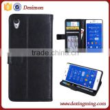 Photo Frame Wallet leather case for Sony Xperia Z3 Plus, Stand leather case for Xperia Z3+
