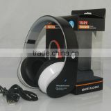 Bluetooth stereo headphones B-01 with FM radio MP3 player functional wireless headphone