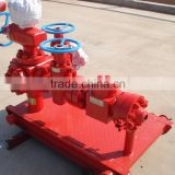 API 16C Choke Manifold And Kill Manifold for underfloor heating For Oil Well Control
