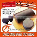 20.0mm Bicycle Carbon handlebar Bar End Caps
