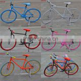 "26"" good quality carbon steel fixed gear bike/bicycle"