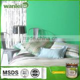 Waterproof, non-toxic organic texture emulsion paint
