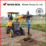 New Low Price mini auger drilling loader DLZ918 for Sale